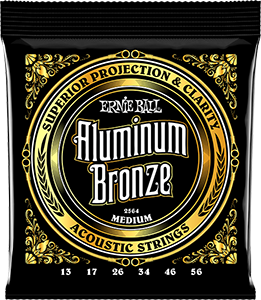 Pack of Medium Aluminum Bronze strings